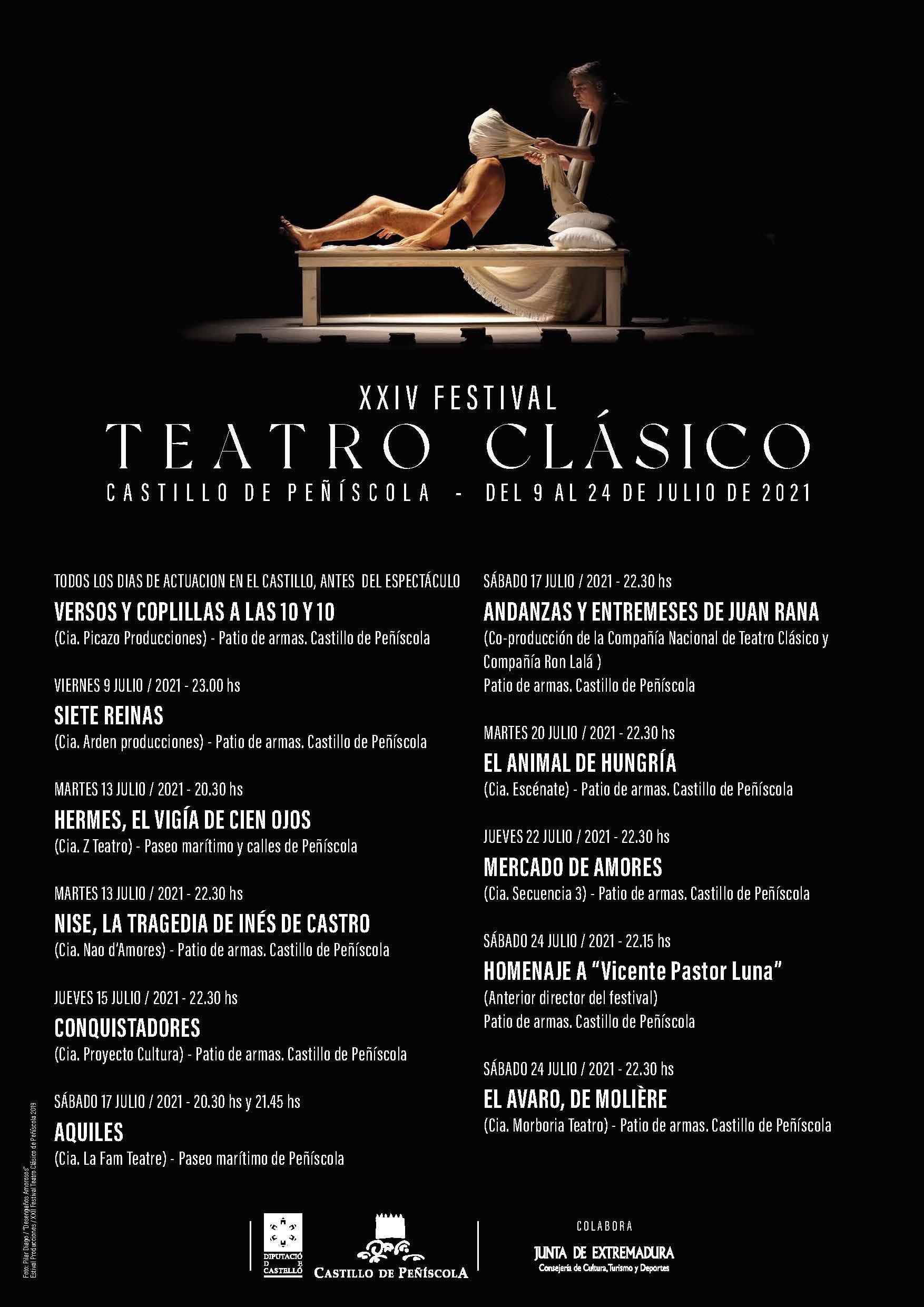 XXIV Festival de Teatro Clásico