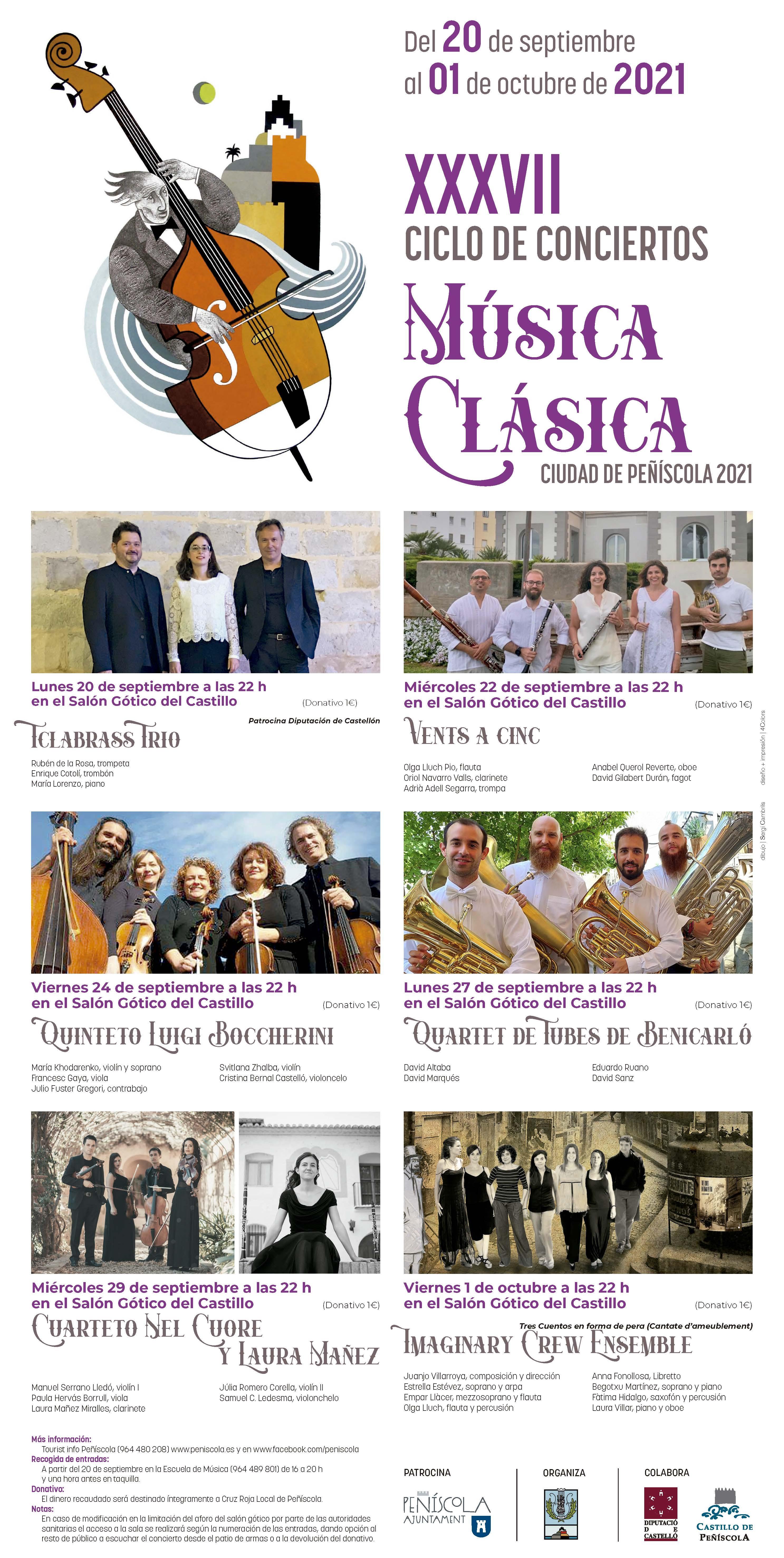 XXXVII CICLO DE CONCIERTOS Música Clásica